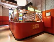 Marc Engelen Interieur Vormgeving heeft zorg gedragen voor het ontwerp van de stand Txosta, een pinxtos bar. In het ontwerp komt het Spaanse gevoel naar voren.