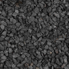 Basalt Schwarz Splitt