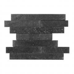 Belgischer Blaustein Wandstreifen Leather Finish